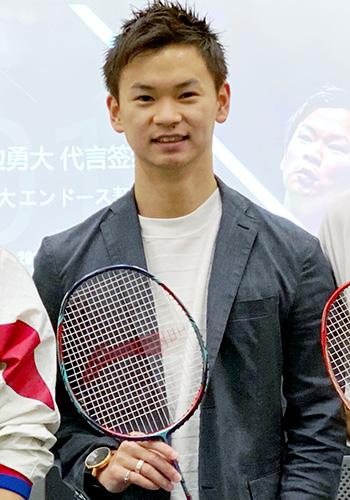 LI-NING契約 日本代表 渡辺優大(ワタナベユウタ)選手 リーニン
